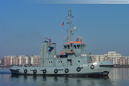 Marineschlepper Knechtsand (Y 814)