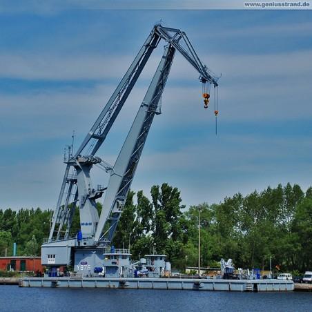 Wilhelmshaven Marine: Schwimmkran Griep (Y 876)