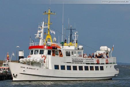 Passagierschiff Jens Albrecht III