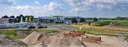Kreuzungsbereich Niedersachsendamm/Flutstraße