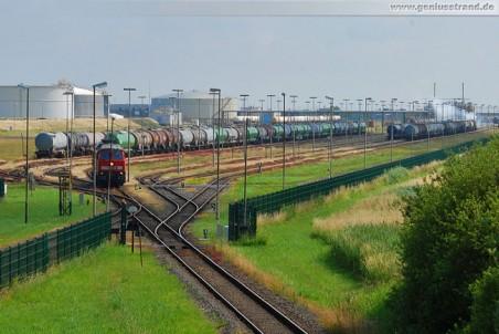 Gleisanlage der Wilhelmshavener Raffineriegesellschaft mbH (WRG)
