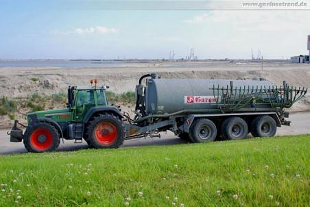 Traktor Scheper 824 Turbo mit Kotte-Garant Güllewagen