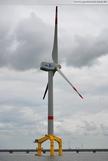 Nearshore-Windkraftanlage Bard VM (5.0) Hooksiel
