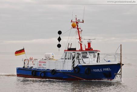 Vermessungsschiff Harle Priel