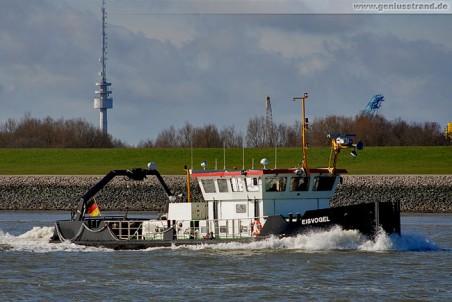 Mehrzweck-Arbeitsschiff Eisvogel, Wasser- und Schifffahrtsamt Meppen