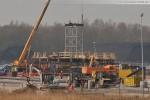 Tag 1 - Schornsteinbau des GDF Suez Kraftwerks in Wilhelmshaven