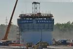 Tag 8 - Schornsteinbau des GDF Suez Kraftwerks in Wilhelmshaven