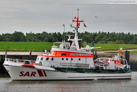 Seenotrettungskreuzer Vormann Steffens und Tochterboot Adele