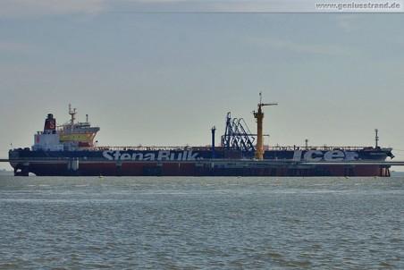 Tanker Stena Atlantica an der NWO-Pier
