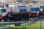 Transport zum Massenschüttgutlager: Warten auf das schwarze Gold