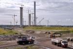 Transport zum Massenschüttgutlager: Auf den Weg zum Schüttgutlager