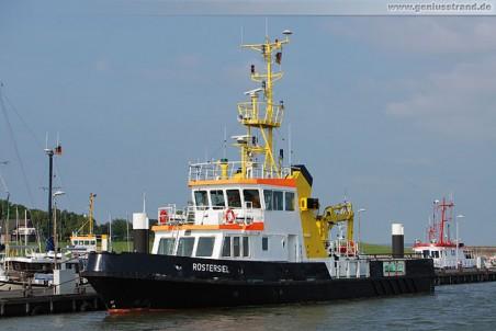 Die Rüstersiel vom Wasser- und Schifffahrtsamt (WSA) Wilhelmshaven