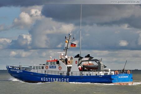 Wasserschutzpolizei (Küstenwache) W5 aus Wilhelmshaven