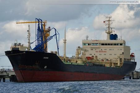 Tanker Bozdag an der NWO-Pier in Wilhelmshaven