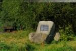 Am Tiefen Fahrwasser: Gedenktafel Alter Voslapper Leuchtturm