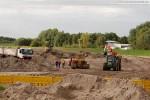 Baustelle Autobahnanbindung JadeWeserPort