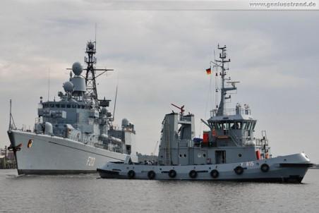 Marineschlepper Scharhörn (Y 815) im Großen Hafen
