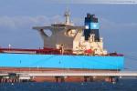 Die Brücke des Supertankers Maersk Noble