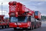 Mobilkran Liebherr LTM 1400-7.1 der Firma Kühl aus Elmshorn