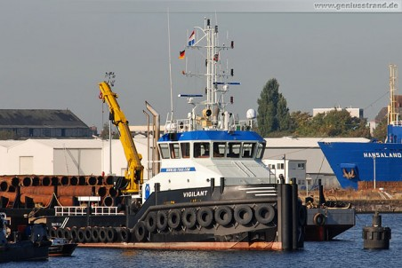 Schlepper Vigilant der Reederei Engelsman aus den Niederlanden