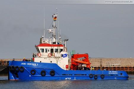 Schlepper vom Jade-Dienst Wilhelmshaven