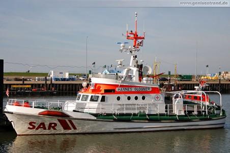 Seenotrettungskreuzer Hannes Glogner und Tochterboot Flinthörn