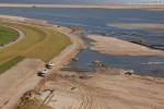 JadeWeserPort: Straße Am Tiefen Fahrwasser und Deichweg