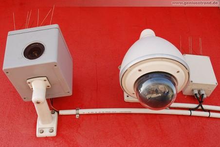Kamera für den Bauzeitraffer und die Webcam JadeWeserPort am Leuchtturm