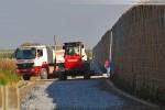 Gleisanbindung für den JadeWeserPort: Das Gleisbett entsteht