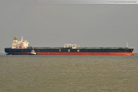 Der zur Suezmax-Klasse gehörende Tanker Silia T.