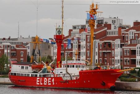 Wilhelmshaven: Feuerschiff Elbe 1 (Bürgermeister O'Swald)