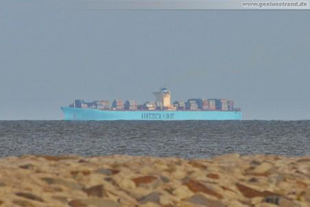 Das größte Containerschiff der Welt die Emma Maersk