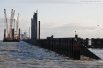 JadeWeserPort: Die nördlichste Ecke der Hauptkaje