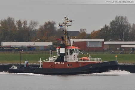 Schlepper Stella im Heimathafen Wilhelmshaven