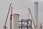 Kraftwerksbaustelle GDF Suez in Wilhelmshaven: Montage Wolff 1250 B