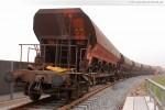 Gleisanbindung JadeWeserPort: Gleisbauarbeiten in der Höhe Eisenbahnbrücke