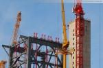 Kraftwerksbaustelle Wilhelmshaven: Wolffkran Big Wolff 1250 B