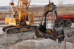 Die fünf Bauwerke des Kühlwasserkreislaufs werden ausgebaggert