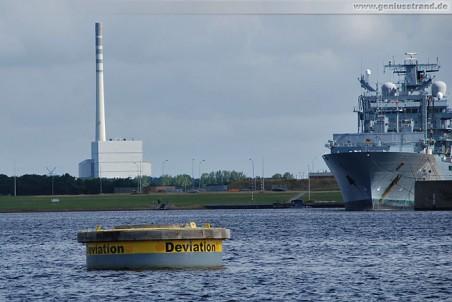 Die Deviationstonne im Nordhafen