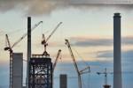 Aktuelle Bilder von der GDF Suez Kraftwerksbaustelle in Wilhelmshaven