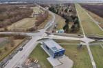 Baustelle JadeWeserPort: Informationszentrum der JadeWeserPort-Baustelle