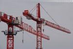 Baustelle JadeWeserPort: Wolff 4517 City & Wolff 6522 SL