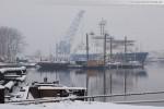 Wilhelmshaven im Winter 2009