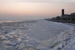 Wilhelmshaven: Alter Vorhafen und Südstrand im Winter 2010