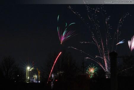 Silvester in Wilhelmshaven: Ein frohes neues Jahr 2010