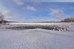 Winterliche Impressionen aus Wilhelmshaven: Der Banter See