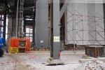 Die GDF Suez Kraftwerksbaustelle im Rüstersieler Groden in Wilhelmshaven