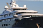 Die Luxus-Yacht Radiant in Wilhelmshaven