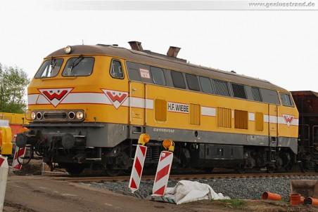 JadeWeserPort: Streckensanierung Industriestammgleis Nord (Strecke 1552)