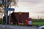 Schwertransport zur GDF-Suez Kraftwerksbaustelle im Rüstersieler Groden
